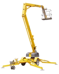 Where to rent 45  TOWABLE PERSONNEL BOOM LIFT in Campbell CA