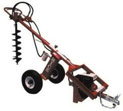 Auger, post hole digger & post driver rentals San Jose CA, Where to
