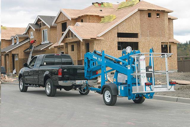 34 Foot Towable Personnel Boom Lift Rentals San Jose Ca