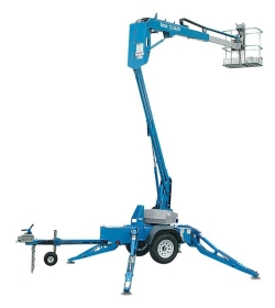 Where to rent 34  TOWABLE PERSONNEL BOOM LIFT in Campbell CA