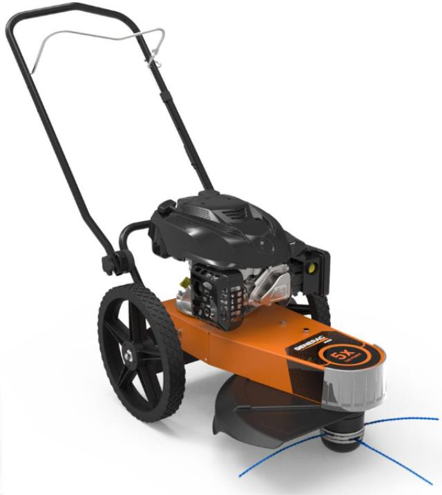 Walk Behind String Trimmer Weed Mower Rentals Campbell Ca