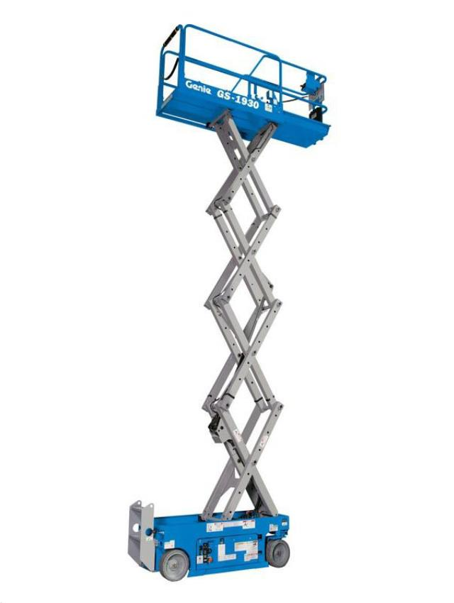 Where to find 19  GENIE GS-1930 ELECTRIC SCISSOR LIFT in Campbell