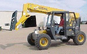 Where to find 34  HIGH 4X4 TELEHANDLER REACH FORKLIFT in Campbell