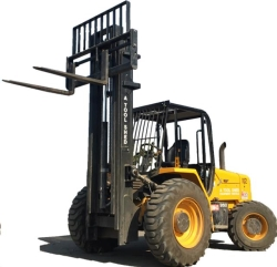 Where to rent 21  FORKLIFT 4X4 8,000 LBS CAPACITY in Campbell CA