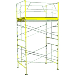 Rental store for 10  ROLLING SCAFFOLDING TOWER in San Jose CA