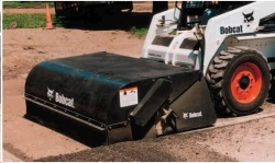 Where to rent SKID STEER TRACTOR SWEEPER ATTACHMENT in Campbell CA