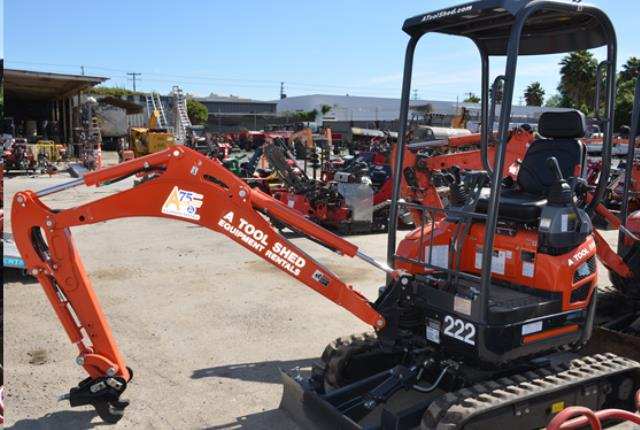 Where to find EXCAVATOR COMPACT 1 1 2 TON in Campbell