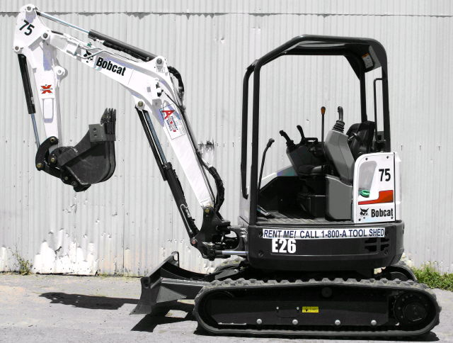 Where to find EXCAVATOR 3 TON in Campbell
