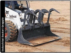 Where to rent 60  WIDE SKID STEER GRAPPLE BUCKET in Campbell CA