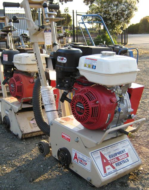 Where to find GAS COMPACT CONCRETE PLANER in San Jose