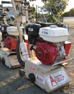 Used Equipment Sales GAS COMPACT CONCRETE PLANER in San Jose CA