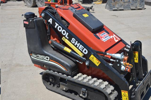 Where to find MINI TRACK SKID STEER LOADER SK350 in Campbell