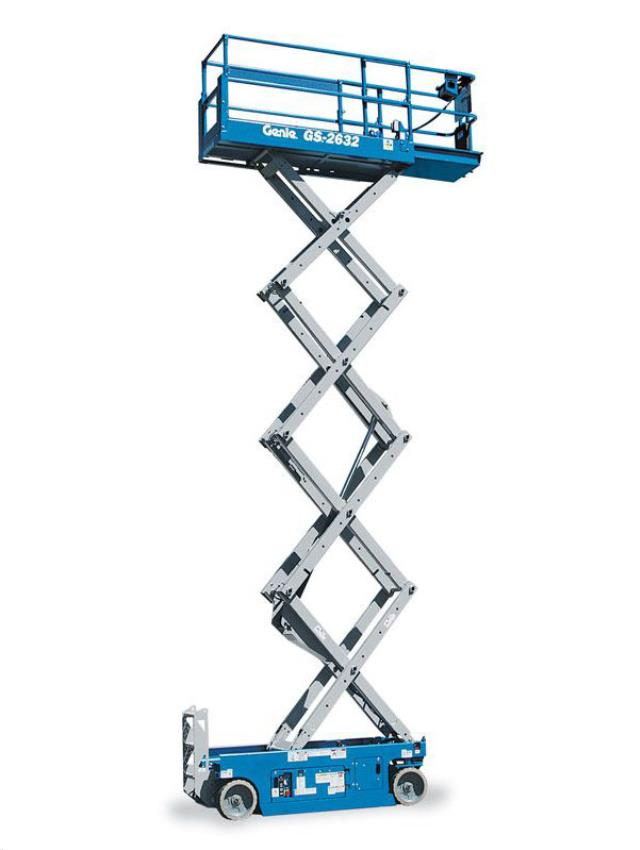26 Foot Genie Gs 2632 Electric Scissor Lift Rentals