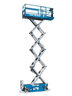 Where to rent 26  GENIE GS-2632 ELECTRIC SCISSOR LIFT in Campbell CA