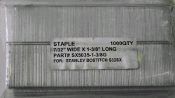 Where to rent BOSTITCH 1-3 8  SX5035 STAPLES 1000 BOX in Campbell CA