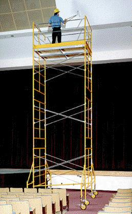 Scaffold Rolling Tower 20 Foot Rentals Campbell Ca Where
