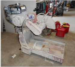 Used Equipment Sales GAS BRICK SAW in San Jose CA