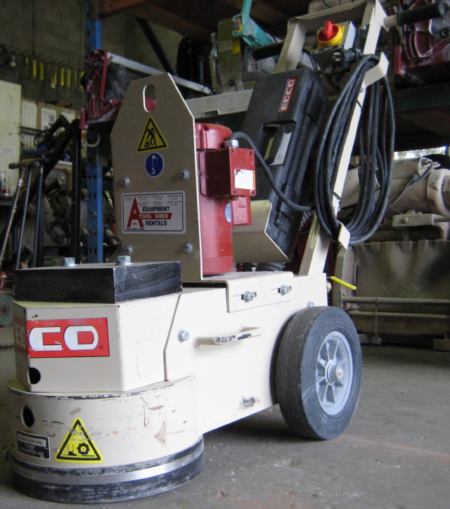 Where to find CONCRETE FLOOR GRINDER   STRIPPER in San Jose