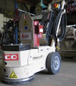 Where to rent CONCRETE FLOOR GRINDER   STRIPPER in Campbell CA