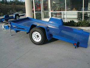 Where to find SINGLE AXLE TILT BED EQUIPMENT TRAILER in San Jose