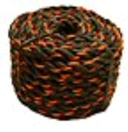 Where to rent ROPE, 3 8  X 50  BLACK ORANGE in Campbell CA