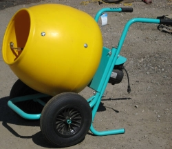 Where to rent 2 CU FT WHEEL BARROW CONCRETE MIXER in Campbell CA