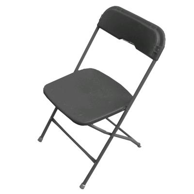 Chairs Black Samsonite Rentals Campbell Ca Where To Rent