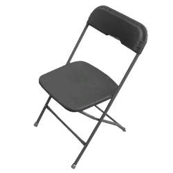 Where to rent CHAIRS, BLACK SAMSONITE in Campbell CA