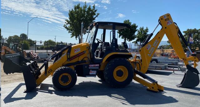 Case 4x4 backhoe tractor loader rentals San Jose CA | Where