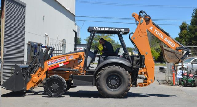 Where to find CASE 4x4 BACKHOE TRACTOR LOADER in Campbell
