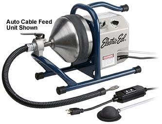 Sewer Snake Auto Feed Electric Trap Rentals Campbell Ca