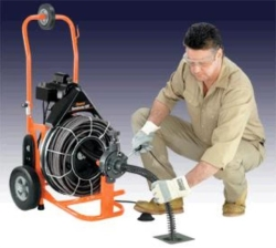 Where to rent 100  MAIN LINE AUTO FEED SEWER SNAKE in Campbell CA