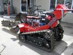 Used Equipment Sales WALK BEHIND TRACK TRENCHER, 36  DEPTH in San Jose CA