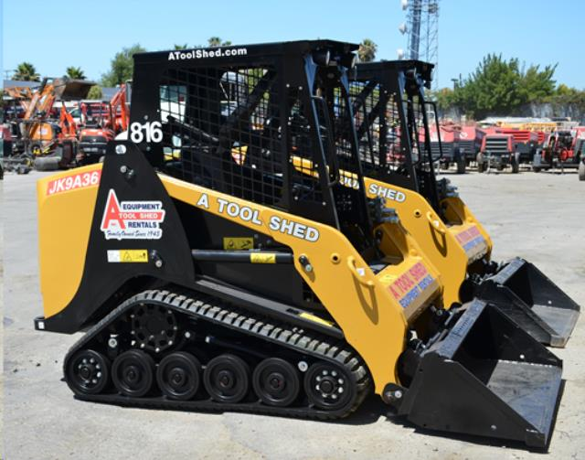 Where to find 48  TRACK SKID STEER LOADER TRACTOR in San Jose