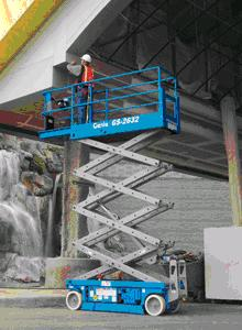 Where to find GENIE INDUSTRIES GS2632 SCISSOR LIFT in San Jose