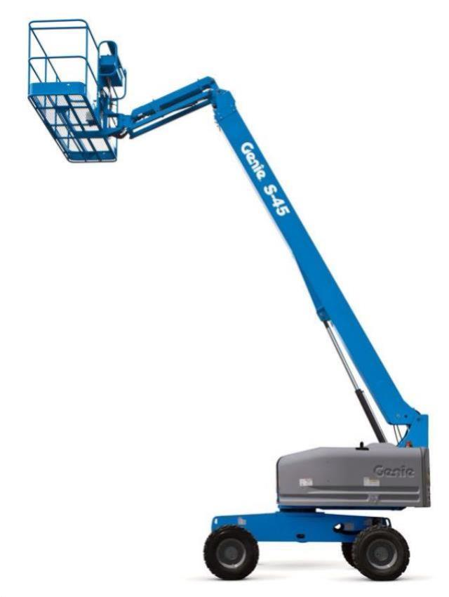 Where to find 45  GENIE S45 PERSONNEL BOOM LIFT in Campbell