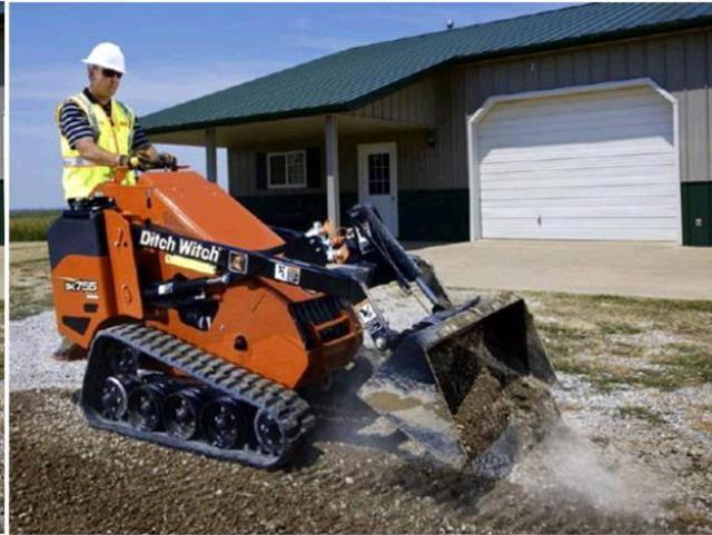 44 Inch Mini Track Skid Steer Loader Tractor Rentals