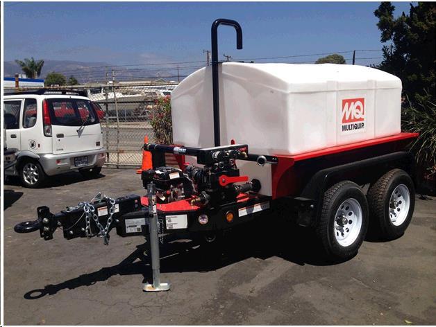 Multiquip Wt5c 500 Gallon Water Trailer Sales Campbell Ca
