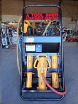 Auger, post hole digger & post driver rentals San Jose CA