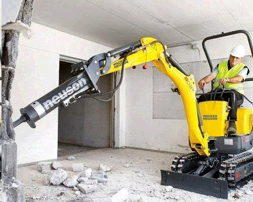 Mini Excavator Breaker Attachment Rentals Campbell Ca