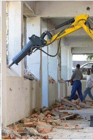 Mini Excavator Breaker Attachment Rentals Campbell Ca
