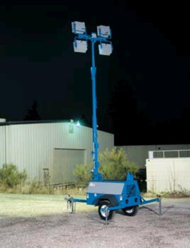 30 Foot Towable Light Tower Rentals Campbell Ca Where To