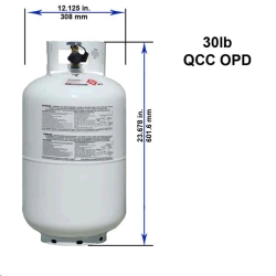 Where to rent PROPANE TANK, 30lbs  7gallons in Campbell CA