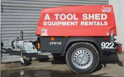 Where to rent 90 CFM TOWABLE DIESEL COMPRESSOR in Campbell CA