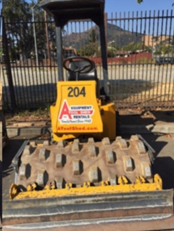 Where to rent 48  VIBRATORY SHEEPSFOOT ROLLER in Campbell CA