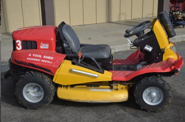 4 X 4 Ride On Weed Mower Brush Cutter Rentals San Jose Ca