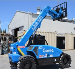 Where to rent 19  HIGH 4X4 TELEHANDLER REACH FORKLIFT in Campbell CA