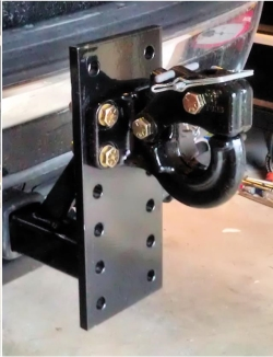 Rental store for 6 POS PINTLE SLIDE IN HITCH W PIN in San Jose CA