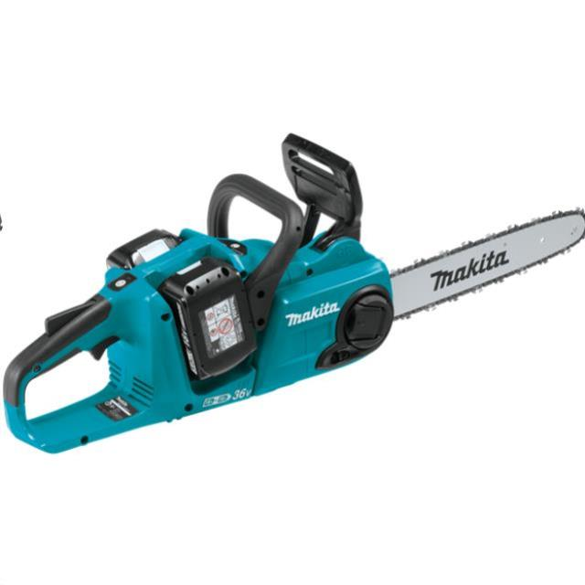 Where to find 14  MAKITA 36V CORDLESS CHAINSAW in Campbell