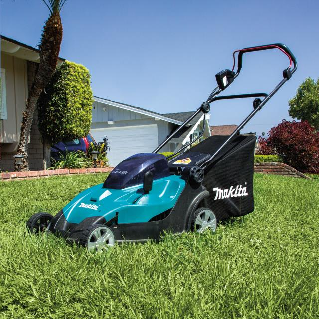 Where to find 17  MAKITA CORDLESS LAWN MOWER in San Jose